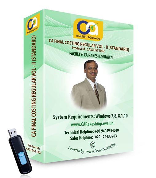 CA Final Costing Regular (VOL - II : Standard)