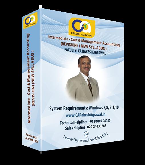 CA Intermediate CMA Quick Revision