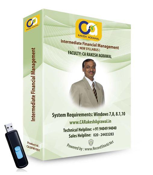 CA Intermediate Financial Management